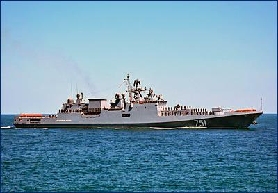 Вторую тройку фрегатов проекта 11356 оснастят российскими двигателями
