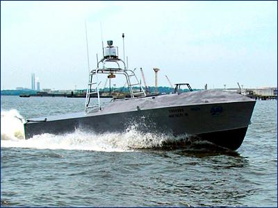 Американцы вооружат беспилотные катера CUSV