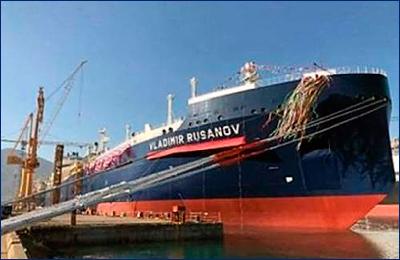 Новейший газовоз для «Ямала СПГ» передан азиатским заказчикам