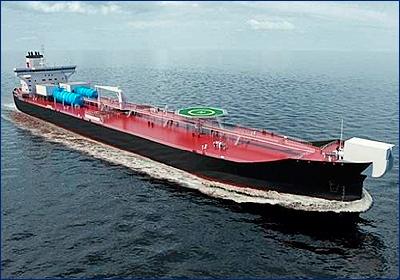 Финляндия совместно с Бермудами разработала концепт нового челночного танкера