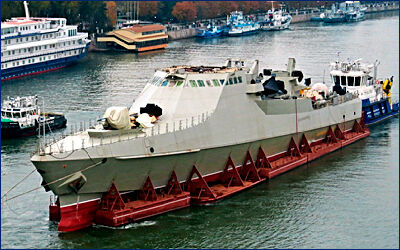 На Зеленодольском заводе для ВМФ будет заложен шестой по счету патрульный корабль проекта 22160