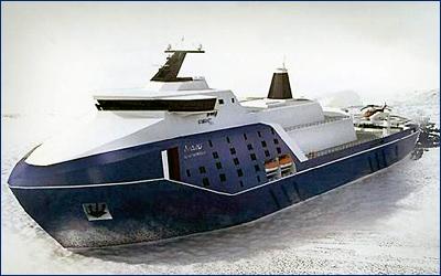 Атомный ледокол «Лидер» могут построить в Крыму