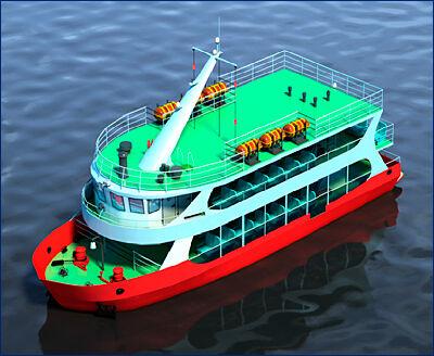 РЦПКБ «Стапель» завершило и передало Заказчику технический проект пассажирского (прогулочного) судна