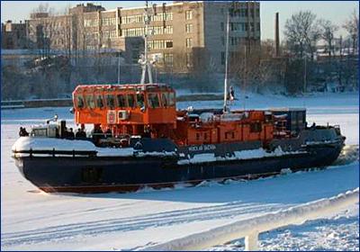 Новый ледокол для нужд Петербурга спроектируют до конца 2018 года