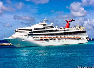 Береговая охрана эвакуировала пассажира с борта круизного лайнера «Carnival Sunshine»
