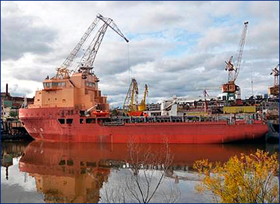 В 2018 году Амурский СЗ планирует сдать два судна снабжения и сторожевой корабль