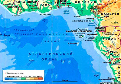 Индийский танкер пропал без вести в акватории Гвинейского залива
