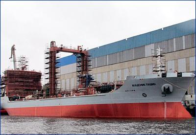 Заводские испытания танкера «Академик Пашин» начнутся весной