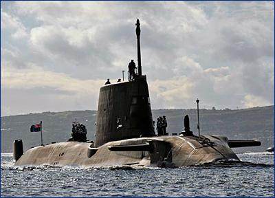 Строительство двух новейших АПЛ для британского флота отложат до лучших времен