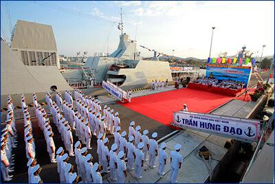 Вторая пара фрегатов проекта «Гепард-3.9» введена в состав ВМС Вьетнама