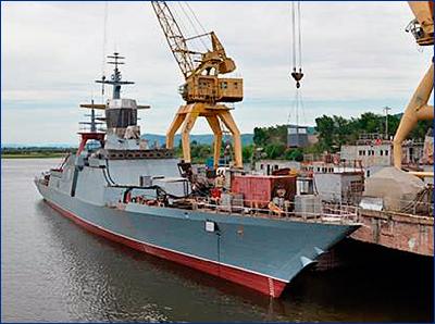АСЗ начинает оборудование помещений корвета «Алдар Цыденжапов»