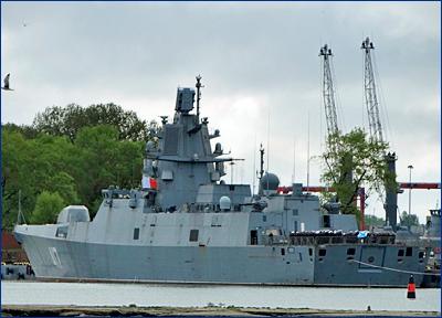 Дизель фрегата «Адмирал Горшков» планируют починить в марте
