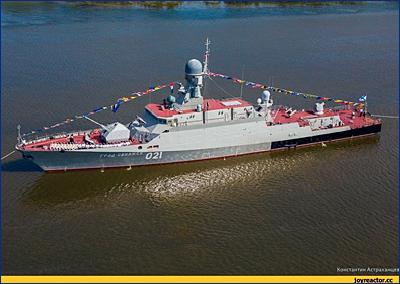 Еще один корабль-носитель ракет «Калибр» будет заложен в день защитника Отечества