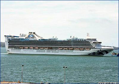 Береговая охрана эвакуировала 70-летнего мужчину с круизного лайнера «Caribbean Princess»