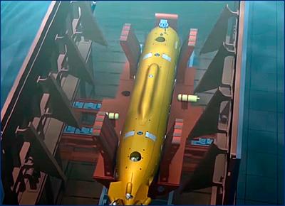 Главком ВМФ рассказал о возможностях подводного беспилотника