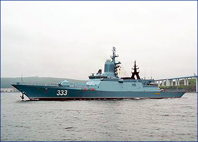 Тихоокеанский флот пополнят восемь корветов