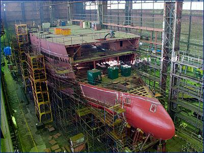 Морозильные траулеры строятся на Выборгском судостроительном заводе