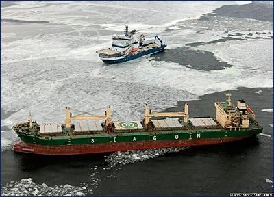 Панамский сухогруз терпит бедствие в Финском заливе