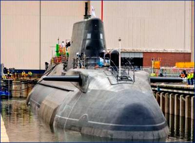 Великобритания намерена получить седьмую подлодку «Астьют»