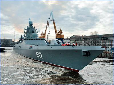 Фрегат «Адмирал Горшков» может быть передан в состав ВМФ к концу лета