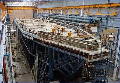 Спуск на воду тральщика «Иван Антонов» перенесли из-за реконструкции слипа на СНСЗ