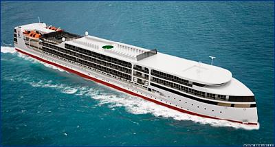 Судостроительный завод «Лотос» завершает строительство корпуса круизного лайнера PV300VD