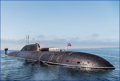 АПЛ проекта 971 имеют на вооружении торпеды, каждая из которых способна потопить авианосец
