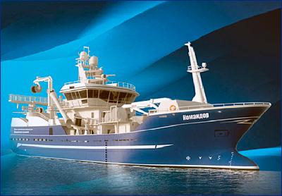 ПСЗ «Янтарь» спустит на воду траулер «Командор»