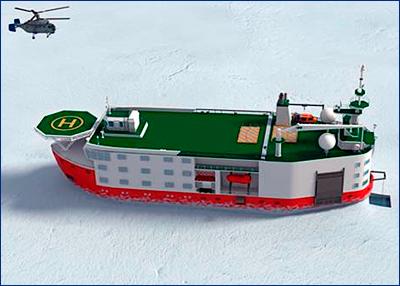 Минприроды направило в кабмин постановление о постройке платформы «Северный полюс»