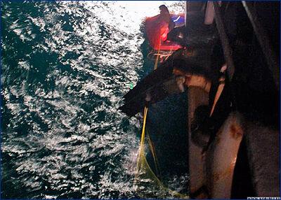 Ракетный крейсер USS «Hue City» (CG 66) ВМС США спас моряков у побережья штата Джорджия