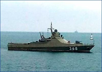 Патрульный корабль «Василий Быков» вышел в море после достройки