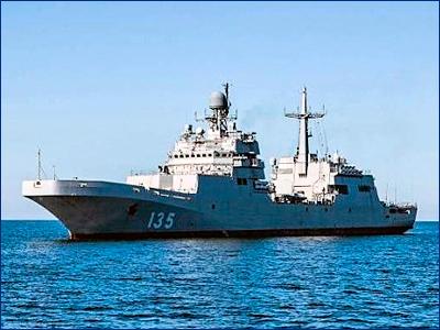 БДК «Иван Грен» передадут ВМФ РФ накануне Дня Победы