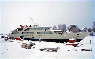 Начался очередной этап строительства нового катера связи для ВМФ России