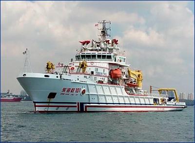Один человек погиб в результате крушения грузового судна на востоке Китая