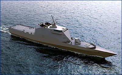 Российские стелс-корабли вооружат боевыми роботами