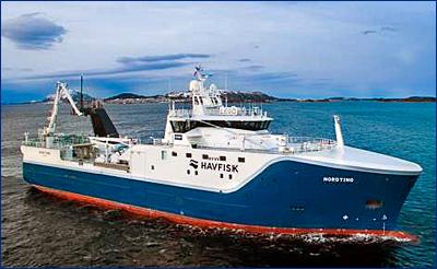 Vard построит новый кормовой траулер для Havfisk