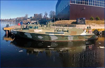 Состоялся спуск на воду патрульного катера проекта 03160, стр. №714