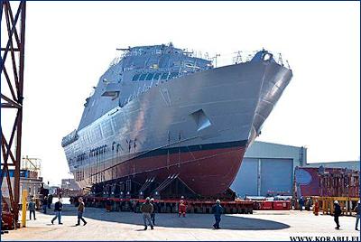 В Маринетте состоится церемония крещения корабля прибрежной зоны USS «Indianapolis»