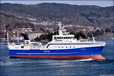 Рыболовное судно «Tokatu» приступило к морским испытаниям