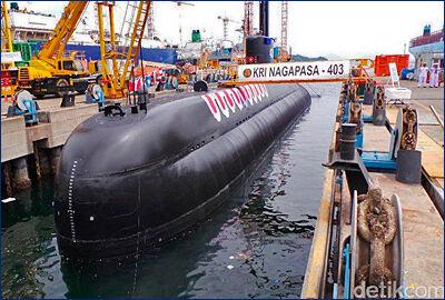 ВМС Индонезии готовятся к приемке второй ДЭПЛ класса «Нагапаса»