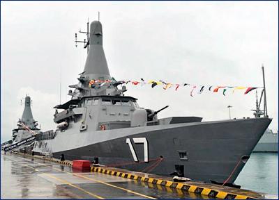 В Сингапуре заложили последний патрульный корабль прибрежной зоны нового поколения
