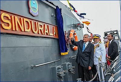 ВМС Шри-Ланки приняли на вооружение второй 105-метровый патрульный корабль
