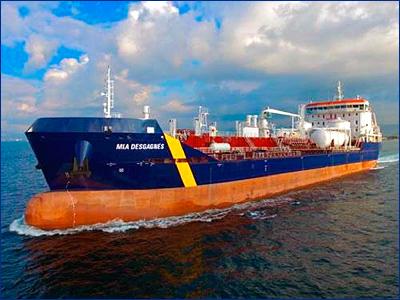 Турция построила первый в мире двухтопливный танкер-химовоз ледового класса