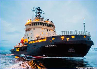 Ледокол Северного флота «Илья Муромец» завершил ледовые испытания и прибыл в Мурманск