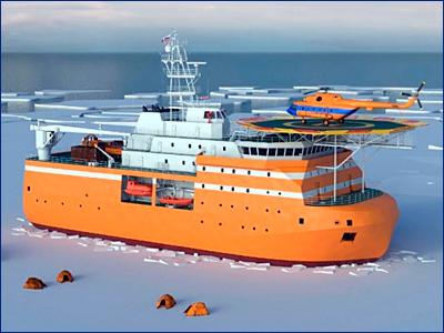 В Петербурге заложат платформу «Северный полюс» для изучения Арктики