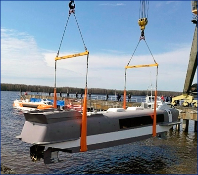 Спущен на воду второй «Валдай 45Р»