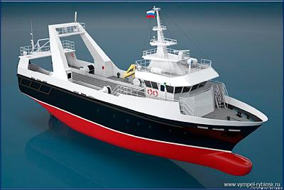 Судостроительный завод «Вымпел» будет строить суда для рыбаков