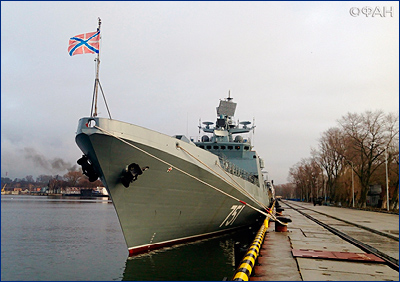 Патрульный корабль «Василий Быков» вышел в море на заводские ходовые испытания