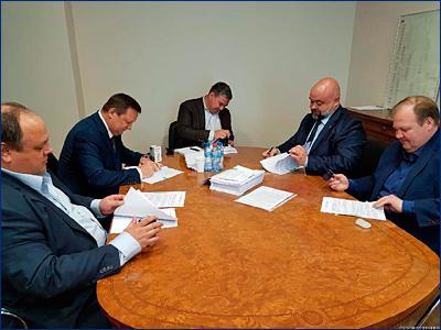 Подписан контракт на строительство двух «Танкеров-химовозов проекта 00216М»