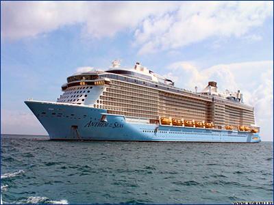 Береговая охрана США провела эвакуацию 83-летней пассажирки с круизного лайнера «Anthem of the Seas»